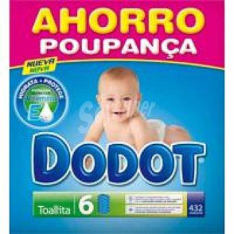 Dodot 1/2box Toallita 6x72