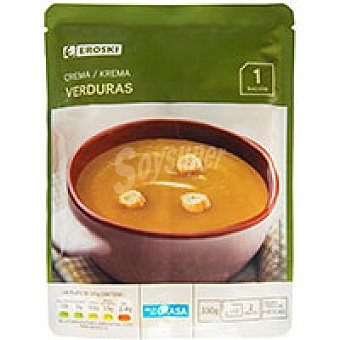 Eroski Crema de verduras Sobre 330 ml