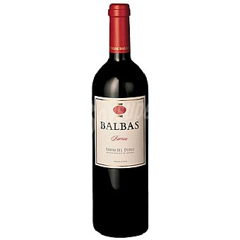 R. del Duero BALBAS Vino Tinto Botella 75 cl