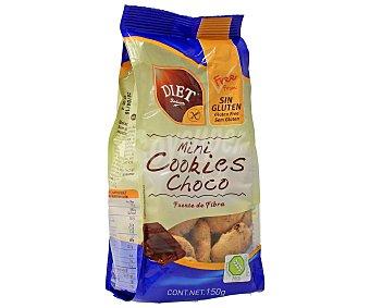 Diet Rádisson Mini galletas con pepitas de chocolate sin glunten (comprobado por la face) 150 gramos