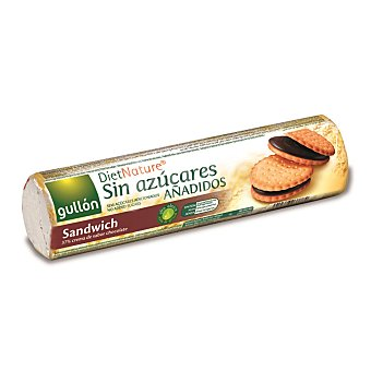 Gullón Galleta rellena de chocolate Diet Nature 250 g