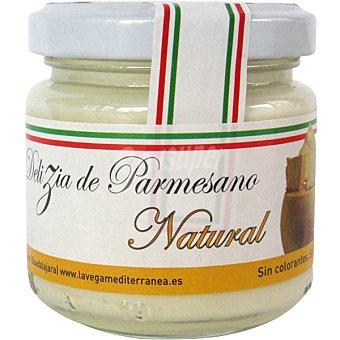 LA VEGA MEDITERRANEA Crema de queso parmesano natural Tarro 100 g