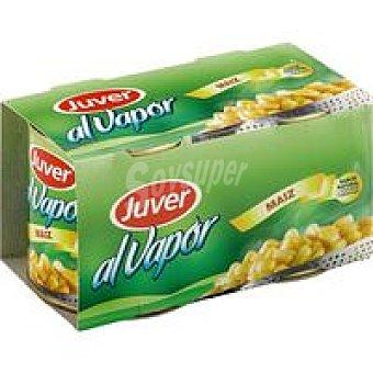 Juver Maiz al vapor Pack 2x140 g