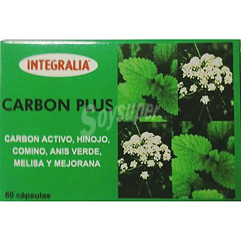 Integralia Carbon Plus Envase 60 capsulas