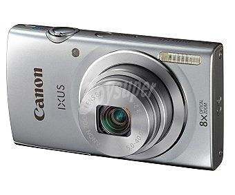 "Canon Cámara compacta 16 Megapixeles + estuche + Tarjeta de memoria 4GB, alta definición, pantalla de 2,7"", color plata IXUS145 KIT"