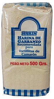 HARIN Harina de garbanzo (recomendada para tortillitas de camaron) Paquete de 500 g