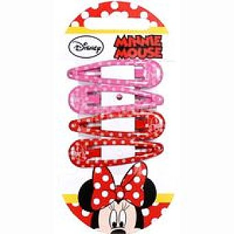 MINNI MOUSE 4 Clips Pack 1 unid