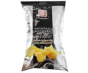Mmm Auchan Patatas fritas en aceite de girasol extra crujientes 180 gramos