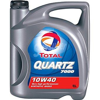 TOTAL Quartz 7000 Aceite de motor para automóvil 10W40 5 l