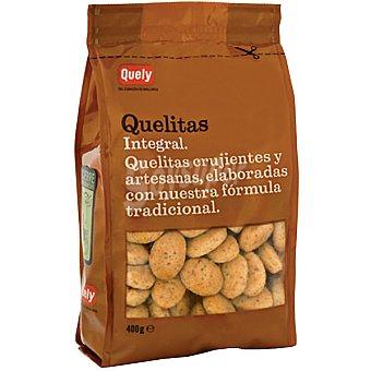 Quely Quelitas mini galletas de Inca integrales de Mallorca bolsa 400 g Bolsa 400 g