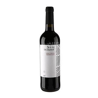 Solar de Ricot Vino tinto semi-dulce 12% vol 75 cl