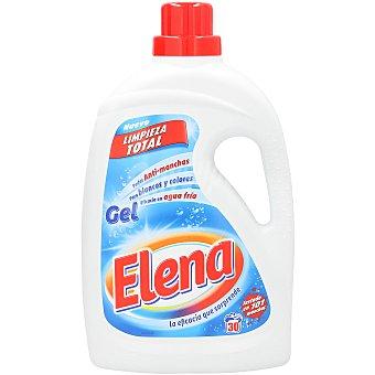 Elena Detergente líquido gel Botella 30 dosis