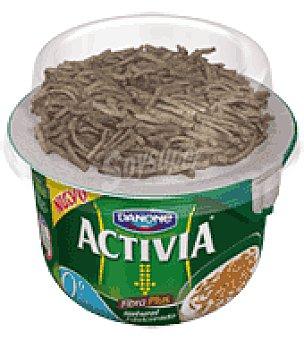 Danone Activia Yogur natural fibra plus 0% Activia 186 g