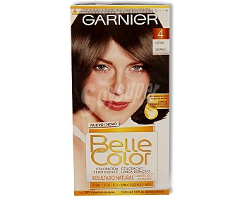 Belle Color Garnier Tinte de pelo color castaño, tono 004 Belle color
