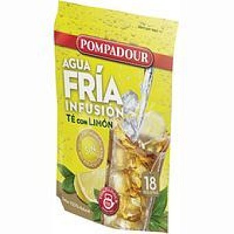 POMPADOUR Agua Fría Té con limón Bolsa 18 monodosis
