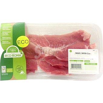 ECOROMA Filete de jamón ecológico peso aproximado Bandeja 500 g
