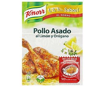Knorr Sazonador mi pollo al horno al limon y oregano 33 g