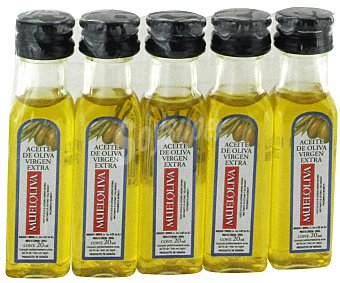 Mueloliva Aceite Virgen 5 Monodosis de 20 Mililitros