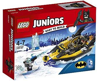 LEGO Juniors 10737 Juego de construcciones con 63 piezas Batman vs. Mr. Freeze, Juniors 10737 LEGO.