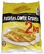 Patata prefrita congelada corte grueso clásica Paquete 2 kg Agristo