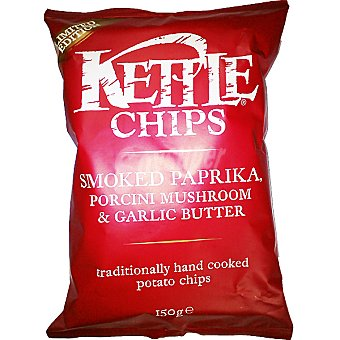 Kettle Paprika mushroom&garlic Bolsa 150 g