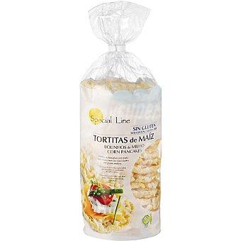 Special Line Tortitas de maíz sin gluten Envase 140 g