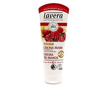 Lavera Naturkosmetik Crema de manos con aceites de argán y arándanos con efecto anti-edad 75 ml