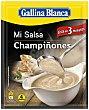 Mi Salsa Preparado para hacer salsa de champiñones para pollo especial para sartén Sobre 24 g Gallina Blanca