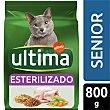 Alimento para gatos senior estirilizados Bolsa 800 gr Ultima Affinity