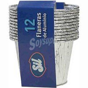 Sil Flanera de aluminio Pack 12 unid