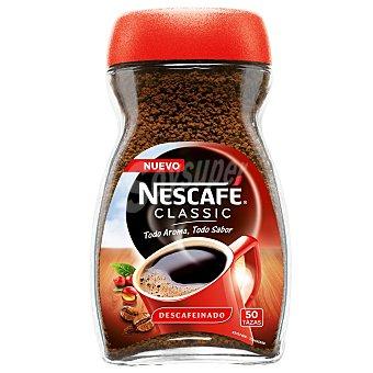 Nescafé Café soluble classic descafeinado Bote 100 g