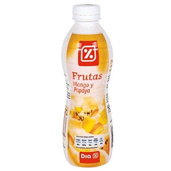 DIA Yogur líquido mango-papaya botella 750 g