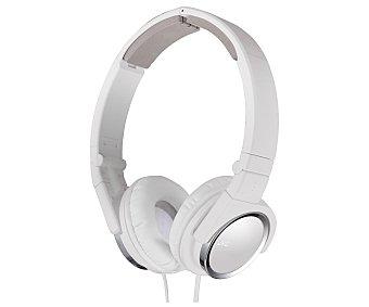 JVC HA-S520-W-E Auricular cerrado tipo casco con cable, color blanco