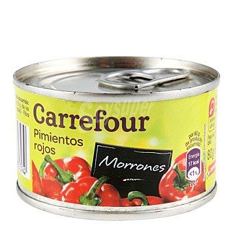Carrefour Pimientos rojos morrones 60 g