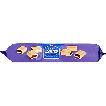 LYONS Fig Rolls bocaditos rellenos de mermelada de higo paquete 200 g
