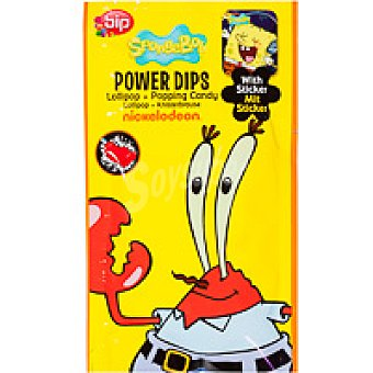 BYP CANDY Power Dips Bob Esponja Pack 1 unid