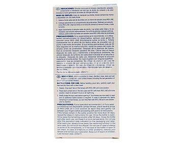 Iris Line Solución para limpiar, desinfectar y lubricar todo tipo de lentes de contacto 2 x 60 ml