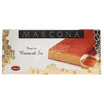Marcona Turrón de crema al fuego marcona Caja 250 g