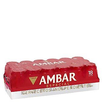 Ambar Cerveza especial Pack 18x33 cl