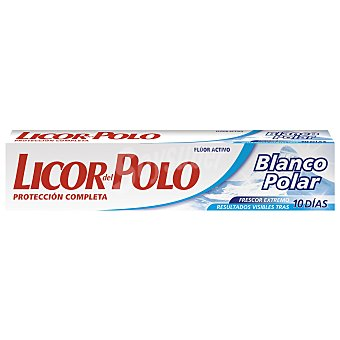 Licor del Polo Pasta dental blanco polar Tubo 75ml