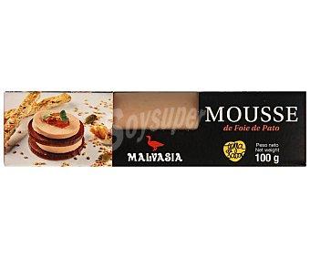 Malvasia Bloc de mousse de foie de pato 100 gr