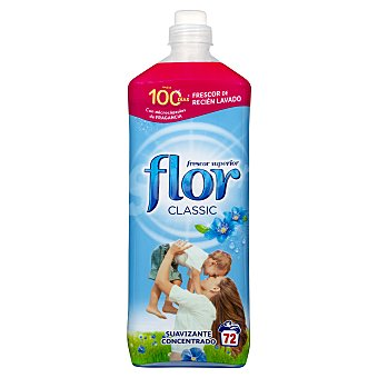 Flor Suavizante concentrado azul classic Botella 72 lavados