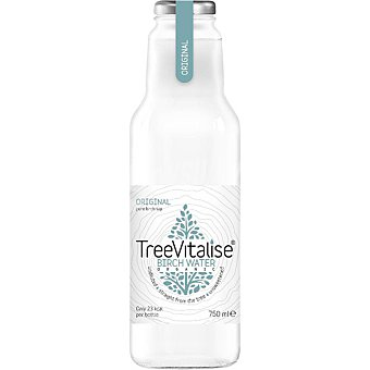 TREEVITALISE Agua de abedul Birch Wate rica en hidratación ecológica botella 75 cl botella 75 cl