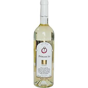 PRINCESA DE ICO Vino blanco malvasía semiseco Canarias botella 75 cl 75 cl