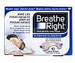 Tiras de tamaño pequeño y color piel, que facilitan la apertura de las fosas nasales 10 uds Breathe Right
