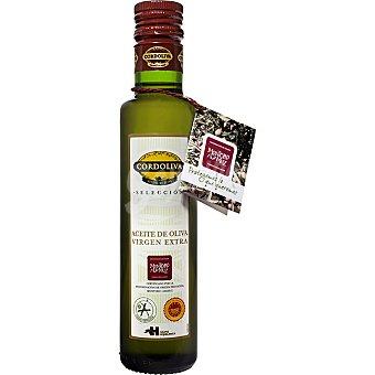 CORDOLIVA aceite de oliva virgen extra denominación de origen Montoro Adamuz  botella 250 ml