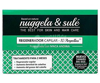 Nuggela & Sulé Tratamiento regenerador capilar en ampollas 10 uds