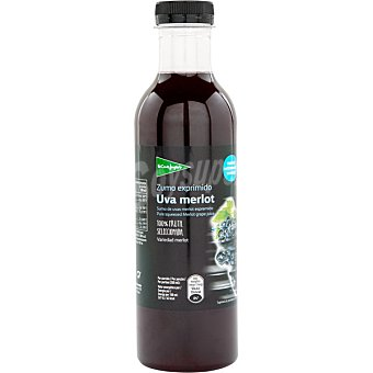 El Corte Inglés Zumo exprimido de uva Merlot botella 750 ml 750 ml