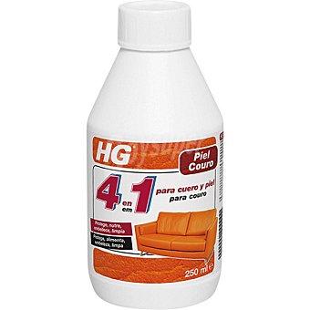 HG Limpiador 4 en 1 para cuero y piel botella 250 ml 250 ml