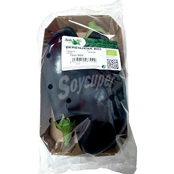 Berenjena negra ecológica bandeja 500 g